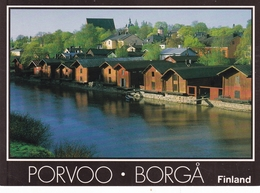 Finland Porvoo Borga Postcard Unused Good Condition - Finland