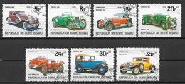 GUINEA BISSAU 1984 AUTOMOBILE VECCHIE YVERT. 259-265 USATA VF - Guinée-Bissau