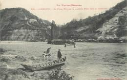 """/ CPA FRANCE 31 """"Carbonne, Le Pyla, Ruines De L'ancien Port"""" - France"""