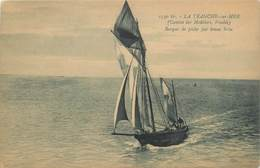 "CPA FRANCE 85 ""La Tranche Sur Mer, Barque De Pêche"" - La Tranche Sur Mer"