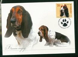Ukraine 2007 Dog Chien Maximum Card 1V - Hunde