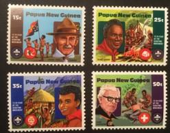 PAPUA NEW GUINEA - MNH** - 1982  - # 554/557 - Papouasie-Nouvelle-Guinée