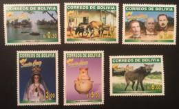 BOLIVIA - MNH** - 2000 - # 1114/1119 - Bolivie