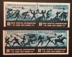 DOMINICAN REPUBLIC - MNH** - 1974 - # C204 A-D - Dominicaine (République)
