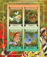 Guinea 2015  Fauna  Butterflies Of The World - Guinée (1958-...)