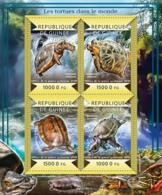Guinea 2015  Fauna   Turtles Of The World - Guinée (1958-...)