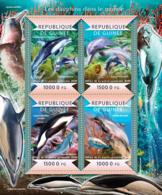 Guinea 2015  Fauna  Dolphins Of The World - Guinée (1958-...)