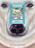 Guinea 2015  Fauna   Polar Bears - Guinée (1958-...)