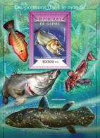 Guinea 2015  Fauna  Fishes Of The World - Guinée (1958-...)