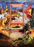Guinea 2015  Aerial Firefighting ,airplane - Guinée (1958-...)