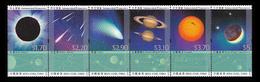 China Hong Kong 2015 Astronomical Phenomena Stamp Strip Of 6v MNH - 1997-... Région Administrative Chinoise