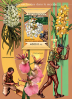 Guinea 2015  Orchids Of The World - Guinée (1958-...)