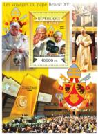 Guinea 2015 The Journeys Of Pope Benedict XVI - Guinée (1958-...)