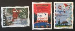 ECUADOR - MNH** - 1998 - # 1478/1480 - Equateur