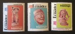 ECUADOR - MNH** - 1991 - # 1268/1270 - Equateur