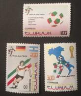 ECUADOR - MNH** - 1990 - # 1234/1236 - Equateur