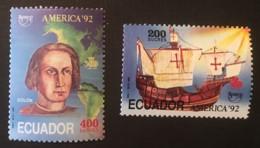 ECUADOR - MNH** - 1992 - # 1292/1293 - Equateur