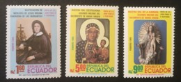 ECUADOR - MNH** - 1985 - # 1072/1074 - Equateur