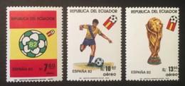 ECUADOR - MNH** - 1982 - # C723/725 - Equateur
