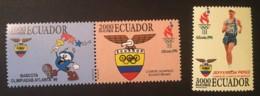 ECUADOR - MNH** - 1996 - # 1401/1403 - Equateur