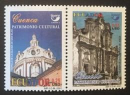 ECUADOR - MNH** - 2001 - # 1621 B-C - Equateur