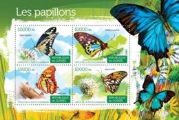 Guinea 2015 Fauna Butterflies - Guinée (1958-...)
