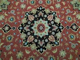 Persia - Iran - Tappeto Persiano Tabriz 60 Raj , Lana Kurk Misto Seta  Extra Fine - Tappeti & Tappezzeria