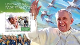 Guinea 2015  The Pastoral Visits Of Pope Francis - Guinée (1958-...)