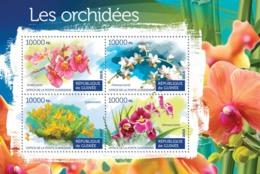 Guinea 2015 Orchids - Guinée (1958-...)