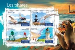 Guinea 2015   Lighthouses And Birds - Guinée (1958-...)