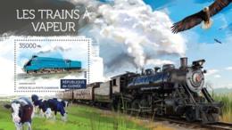 Guinea 2015  Steam Trains, Locomotive - Guinée (1958-...)