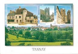 Tannay La Fontaine Le Monument Aux Morts L'eglise Vue Generale   CPM Ou CPSM - Tannay