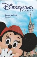 PASSEPORT DISNEYLAND ...BASSE SAISON   ENFANT   GROUPE SCOLAIRE - France