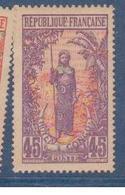 CONGO               N° YVERT  :  59     NEUF SANS GOMME        ( SG     1/18  ) - French Congo (1891-1960)