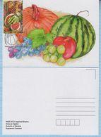 UKRAINE / Maxi Card / FDC / Generous Ukraine. Vegetables. Fruits. Autumn. Kyiv. 2013. - Ukraine