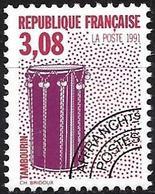 France 1992 - Mi 2876A - YT Po 218 ( Musical Instruments : Tambourine ) MNH ** - Préoblitérés