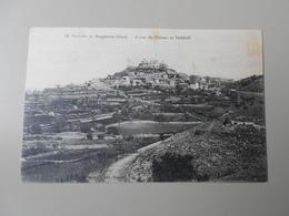 GARD ENVIRONS DE BAGNOLS RUINES DU CHATEAU DE SABRAN - Bagnols-sur-Cèze