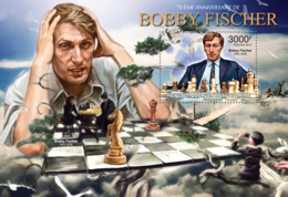Central Africa 2013  Bobby Fischer, (Chess) - Central African Republic