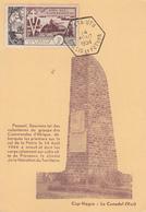 Carte Maximum   WALLIS  Et  FUTUNA    10éme  Anniversaire  De  La  LIBERATION   1954 - Cartes-maximum