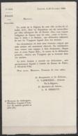 Avis De Police 10 Décembre 1830 Obligeant Les Hôtelliers, Aubergistes Et Loueurs De LOUVAIN à Déclarer Les Voyageurs Log - Décrets & Lois
