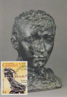 Carte  Maximum  1er Jour    FRANCE   Oeuvre  De  Camille   CLAUDEL   2000 - 2000-09