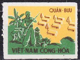 VIETNAM SÜD SOUTH [Militaer] MiNr 0001 B ( OG/no Gum ) - Viêt-Nam