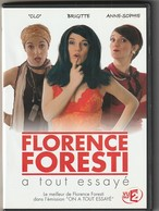DVD  FLORENCE FORESTI  A Tout Essayé  2 DVD  Etat: TTB Port 110 Gr - Comedy