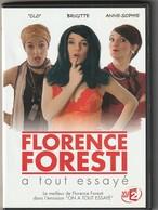 DVD  FLORENCE FORESTI  A Tout Essayé  2 DVD  Etat: TTB Port 110 Gr - Komedie