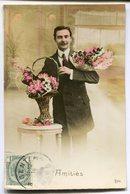 CPA - Carte Postale - Fantaisie - Portrait D'Homme - Amitié - 1912  (M7910) - Hommes