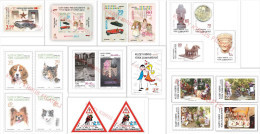 """2015 TURKISH CYPRUS ZYPERN CHYPRE CIPRO """" Complete Year Set - Jahrgang """" MNH - Chypre (Turquie)"""