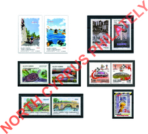 """2018 TURKISH CYPRUS ZYPERN CHYPRE CIPRO """" COMPLETE YEAR SET """" MNH - Chypre (Turquie)"""