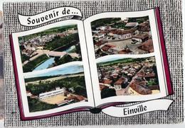EINVILLE-CARTE A 4 VUES - Autres Communes