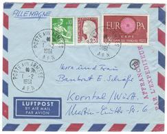 15597 - Pour L'Allemagne - Marcophilie (Lettres)
