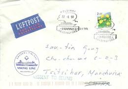 LETTER  RETOUR  1998  PAQUEBOT - Finlande